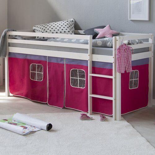Halbhochbett Alta Mit Textil Set 90 X 200 Cm Roomie Kidz Farbe