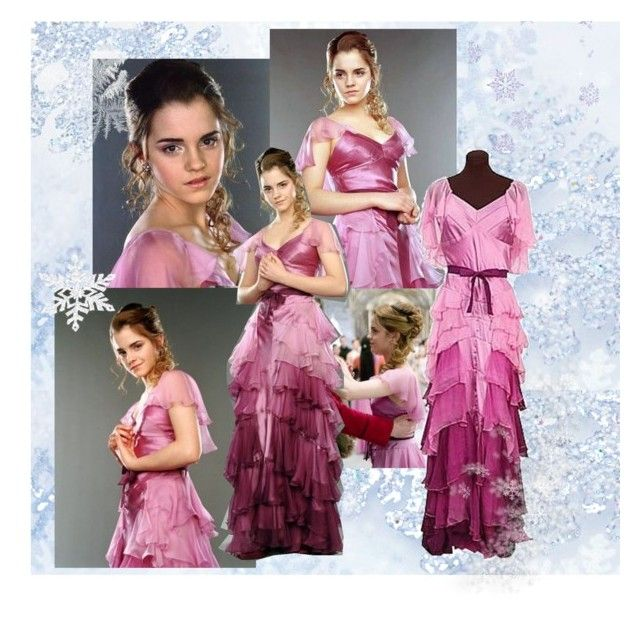 19/50 - Hermione\'s Yule Ball Gown (Goblet of Fire) | Hermione dress ...