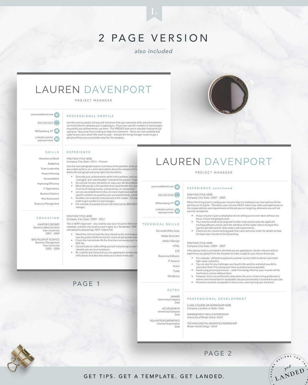 Pin on Templates for LinkedIn