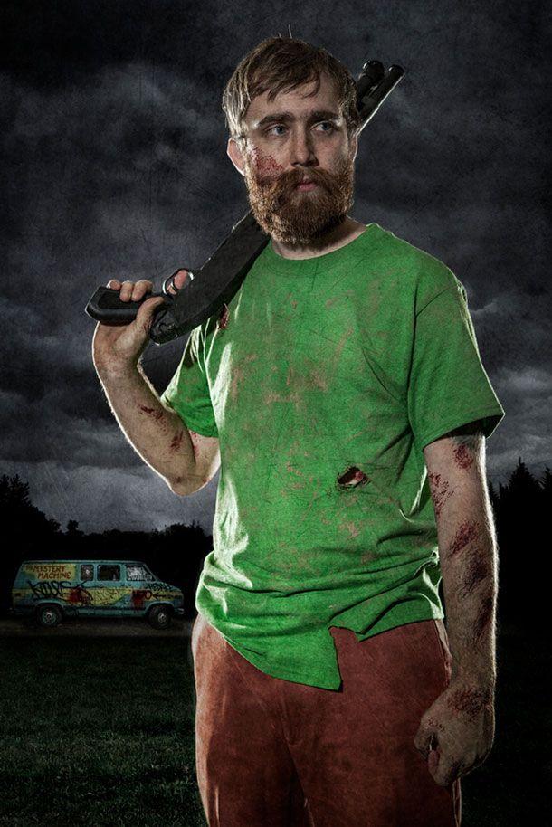 Scooby Doo vs The Zombie Apocalypse | adrianlinks.com