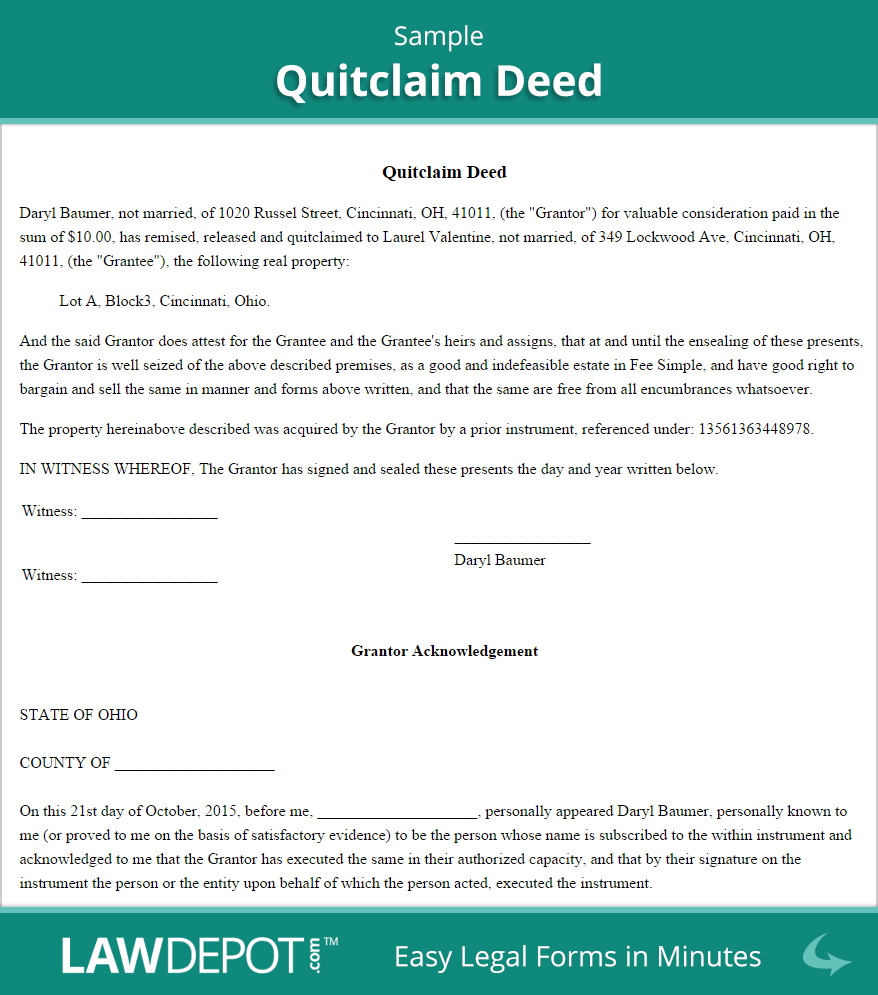 Quitclaim Deed Free Quitclaim Deed Form Us Quitclaim Deed Will And Testament Power Of Attorney Form