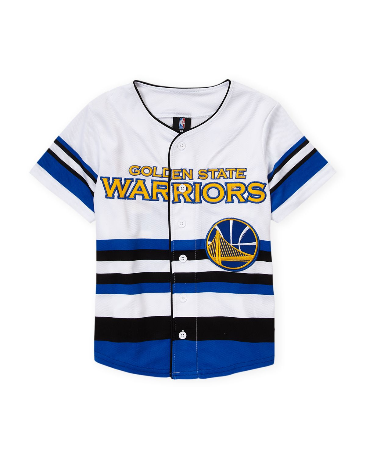 reputable site c315e e44b2 Unk (Boys 8-20) Golden State Warriors Short Sleeve Jersey ...