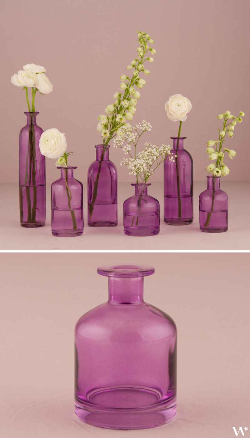 Decorating Glass Bottle Set - Clear | Wedding designs, Favors and ...