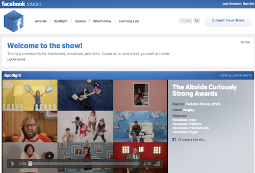 Facebook Studio: A Guide to Facebook's Marketing Showcase - Inside Facebook