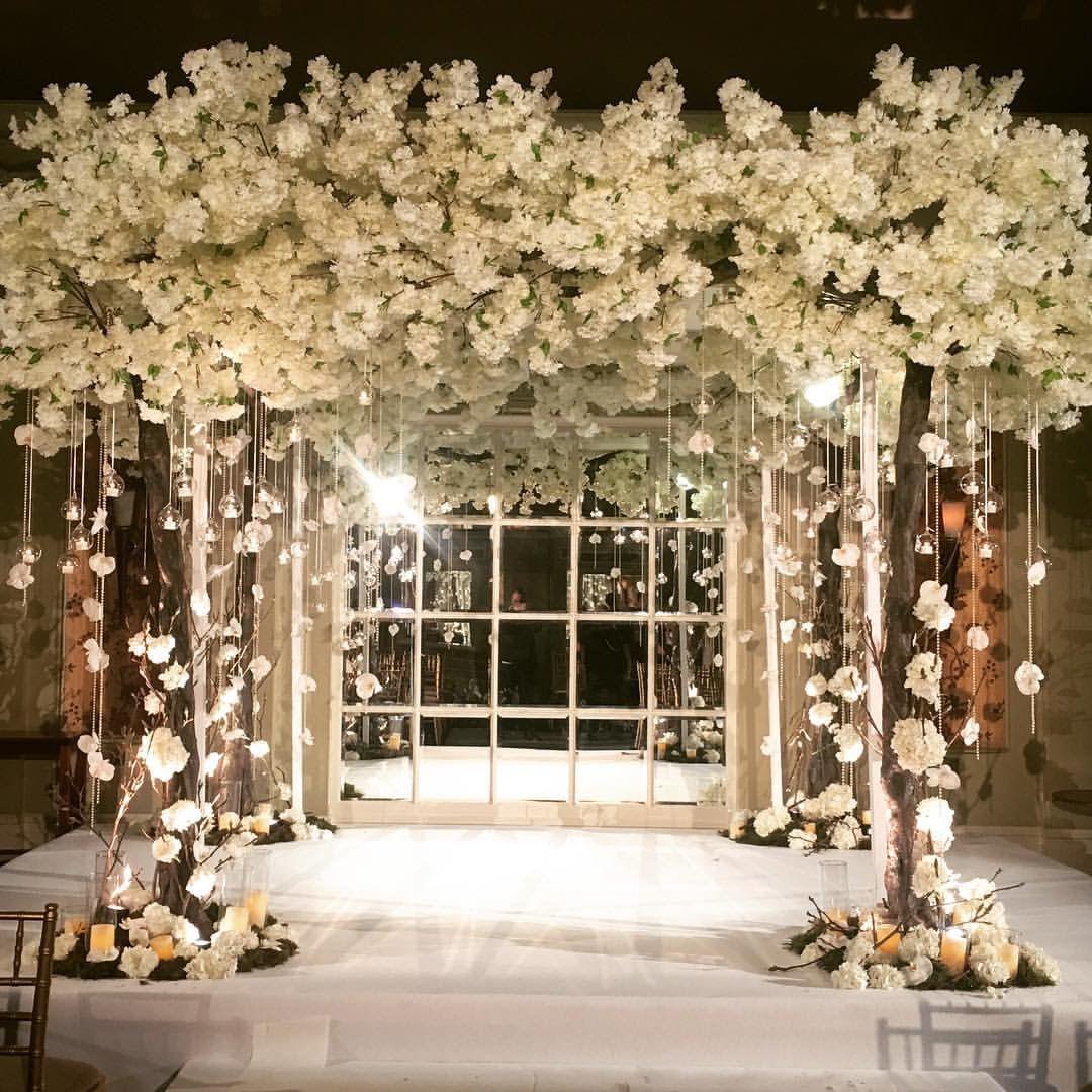 Wedding stage decoration dubai  redfloral  New  Pinterest
