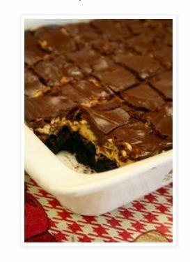 Best Ever Buckeye Brownies - Most Pinned Post Reci