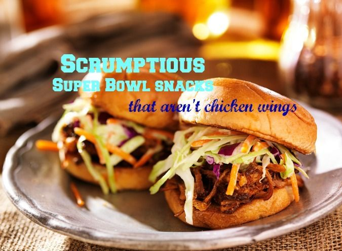 The Big Game: 6 tasty alternatives to chicken wings #recipes #football #food #appetizers #SuperBowl