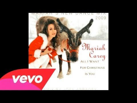 All I Want For Christmas Is You Mariah S New Dance Mix 2 Youtube Mariah Mariah Carey Christmas Song