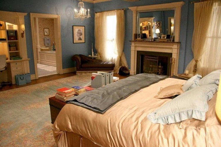 Sammeln Sie Schlafzimmer Inspiration Aus Bekannten Fernsehserien!  Schlafzimmer Inspiration Fernsehserien Blair Waldorf ...