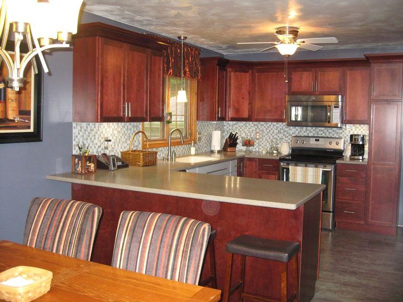 Incroyable Schrock Cabinets   Morgan Maple Sangria