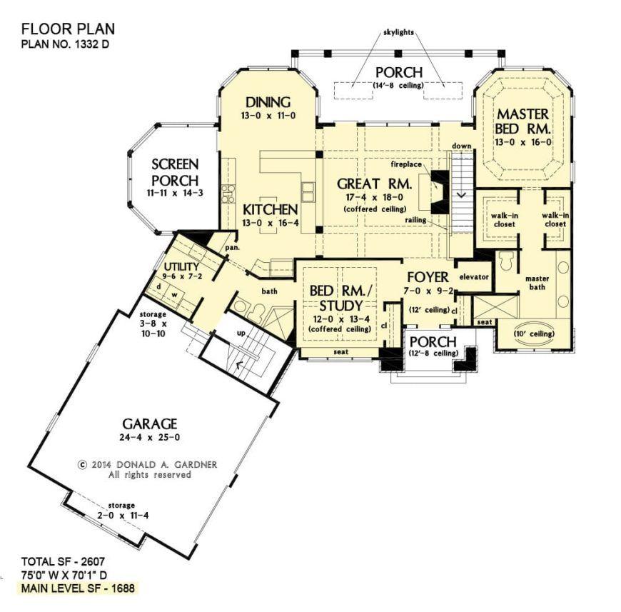 4Bedroom TwoStory The Westlake Home (Floor Plan) in 2020