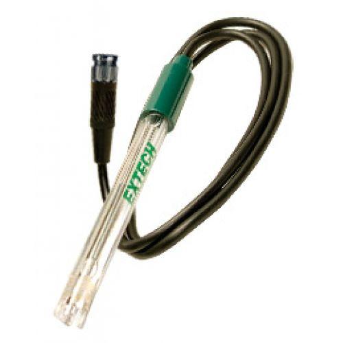 """http://termometer.dk/vandanalyse-r13710/ph-orp-tilbehor-r13728/vandtat-ph-elektrode-til-palm-ph-53-6015WC-r35529  Vandtæt pH-elektrode til Palm pH  Robust, polycarbonat konstruktion  4-leder vandtæt stik funktioner glas pH-sensing pære omgivet af beskyttende tænder  Automatisk temperaturkompensation via indbygget Pt-100Ohm sensor  0 til 14pH område  Fra 0 til 80 ° C driftstemperatur  Inkluderer 1m (39 """")-kabel Garanti: 6 Måneder"""