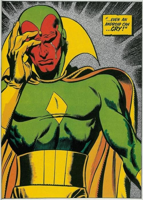 Vision - art by John Buscema