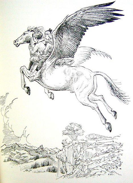 From The Chronicles of Narnia - original illustration by Pauline ...