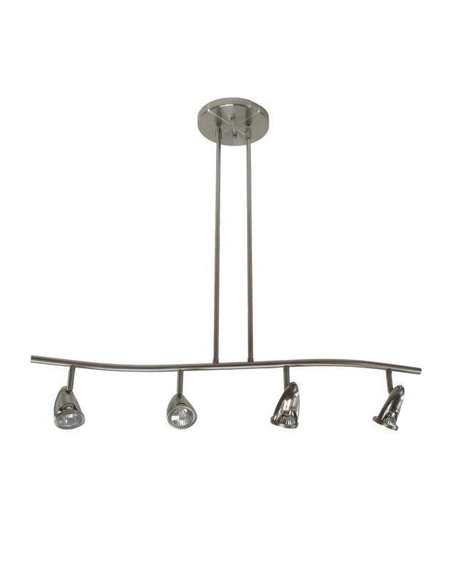 epiphany lighting pt4108 bn four light semi flush or drop pendant in