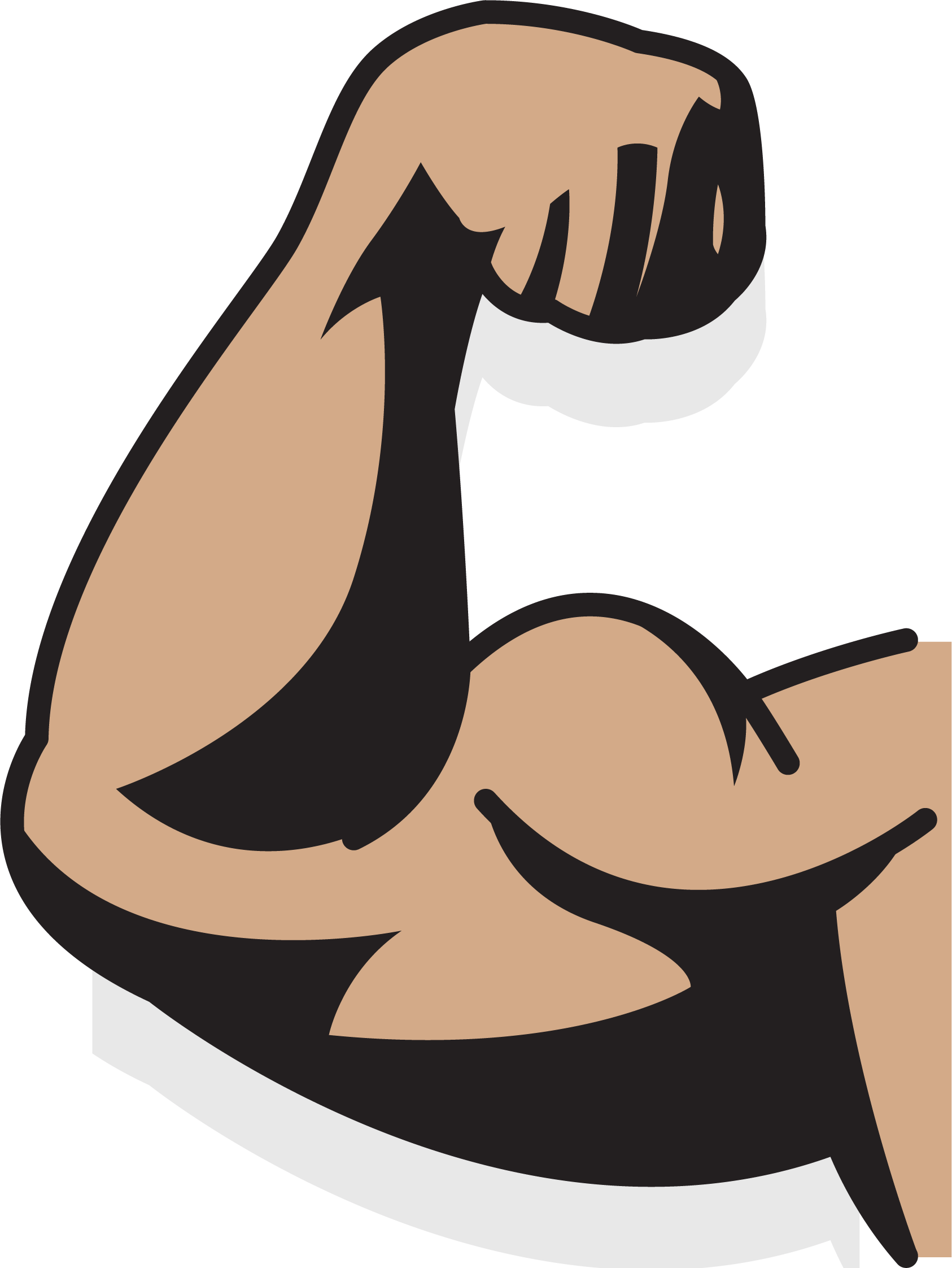 Upper Strong Arm Augu0161delms Muscle Drawing Strong Arms Arm Drawing Arms