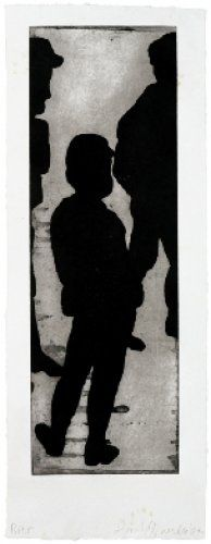 Donald Baechler / found on www.kunzt.gallery / Boys Life, 2007 / Etching