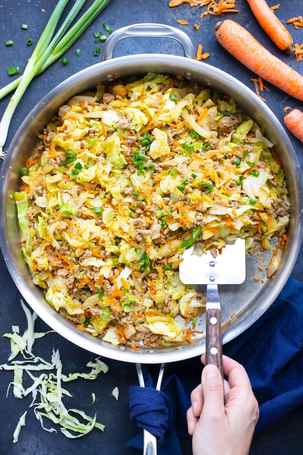 Egg Roll In A Bowl Keto Paleo Recipe In 2020 With