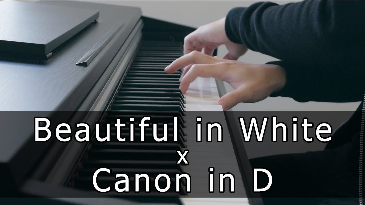 Beautiful In White X Canon In D Piano Cover By Riyandi Kusuma