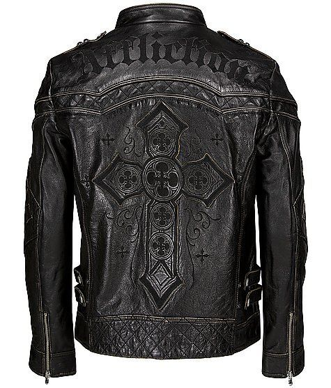 7c845cf8414 I want this  badass Biker Leather
