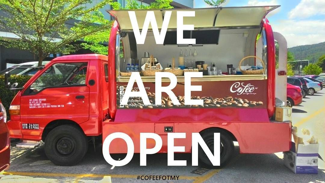 Assalamualaikum and good morning coffee lovers! We will serve you in about 20 minutes more in front of Malaysian Institute of Arts Taman Melawati from 9 am until 11 am!  Stay tune with us to get more updates on our location. In the mean time it's #TGIF come and grab yourself a cup of hot brewed coffee to end this week like a champion!   #cofeedotmy #coffeetruck #foodtruck #coffeelover #coffeeshop #baristaMalaysia #mobilebarista #onestopKL #coffeetime #KLcoffeespot #klfoodtruck…
