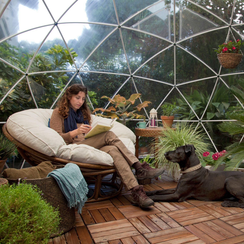 garden igloo geodesic dome be zen a relaxing sanctuary