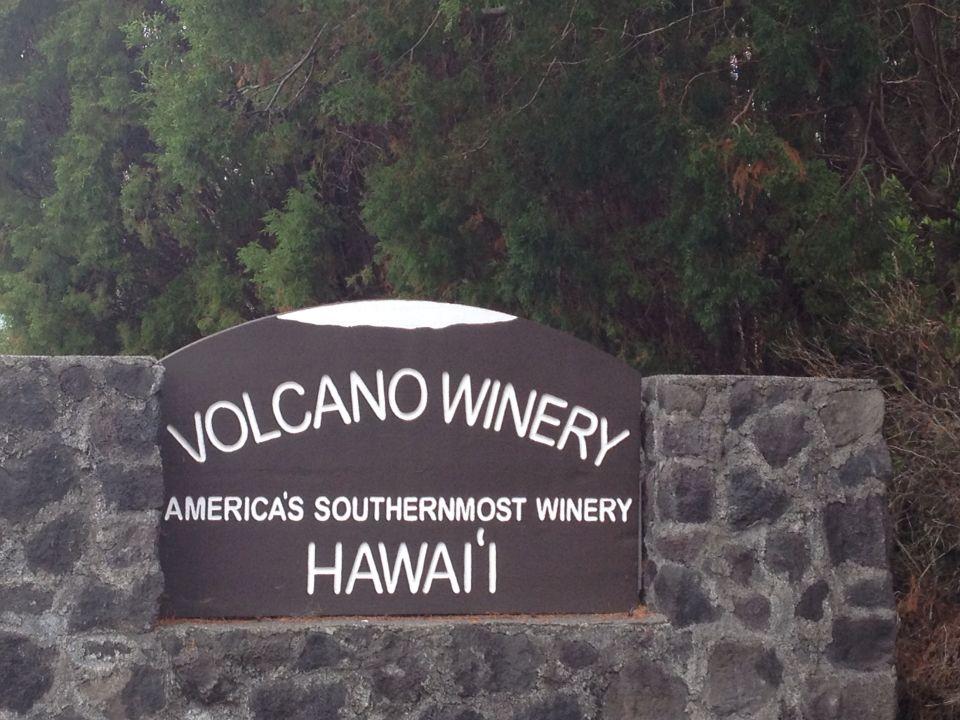 Volcano Winery- Volcano, Big Island Hawaii