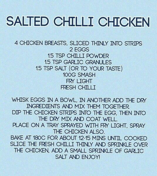 Salted chilli chicken recipe