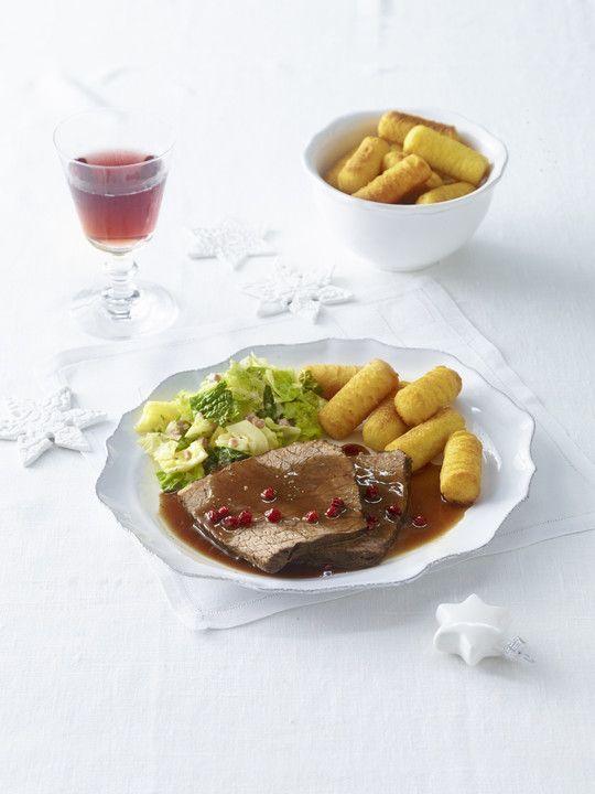 Ich Koche Weihnachtskekse.Altbaerlis Glühweinbraten Rezept Was Koche Ich Heute Rezepte