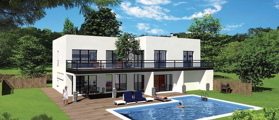 maison contemporaine - Recherche Google Casa de sueños Pinterest