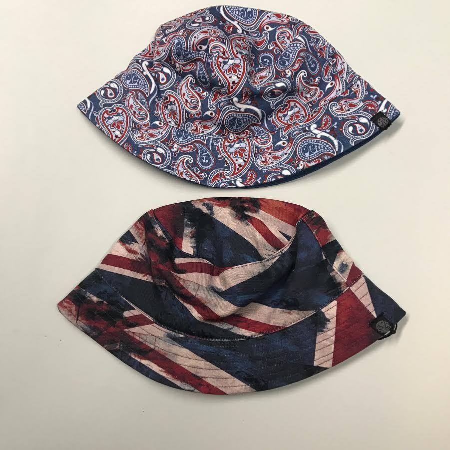 ed024ec1ad7 New this week from Pretty Green! Union Jack   Paisley bucket hats at  Masdings.com