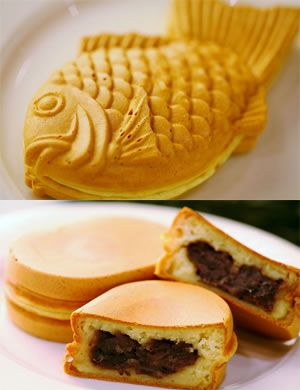 How about a Japanese classic snack? Hot & Fluffy Taiyaki and Obanyaki (red been paste filled cakes) that are good-to-go. Mitsuwa.com
