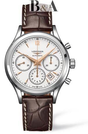 Longines Heritage Column-Wheel Chronograph L2.750.4.76.2  luxurywatch   longines   e6446ecef39