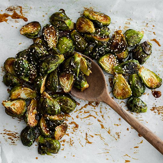 Sweet And Spicy Asian Brussel Sprouts Recipe Keto In
