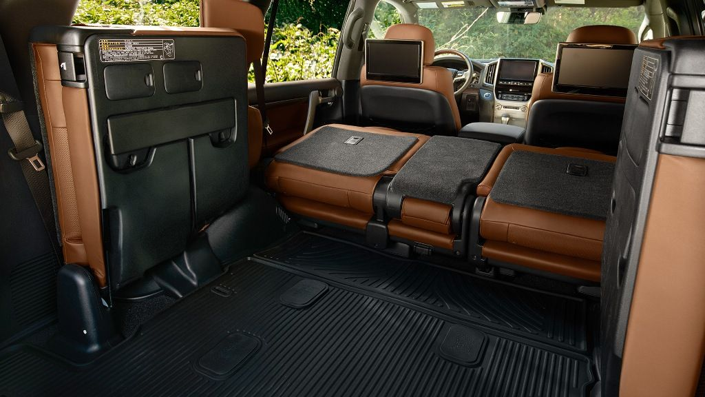 2017 toyota land cruiser trunk and cargo space land 2017 pinterest toyota land cruiser - Small suv cargo space property ...
