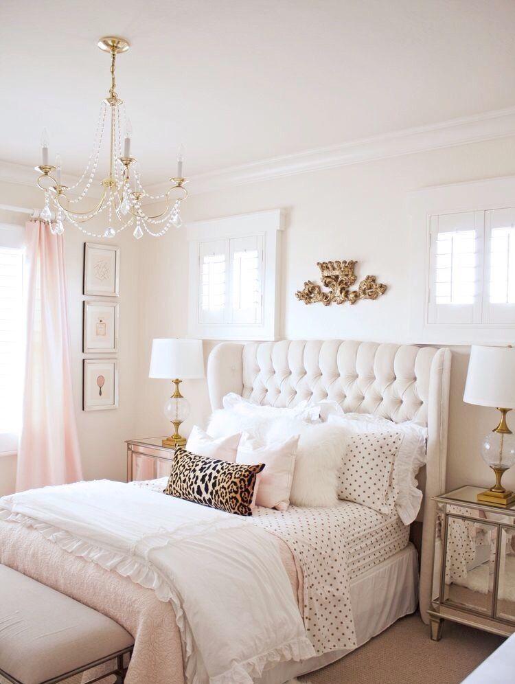 Dise o de interiores dormitorio en 2019 decoraci n de for Dormitorios femeninos modernos