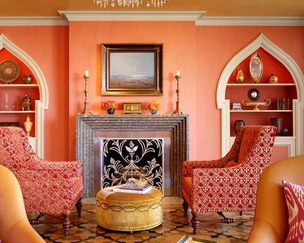Peach Room Inspiration Pursuit Of Functional Home Moroccan Home Decor Moroccan Living Room Living Room Designs #peach #color #for #living #room