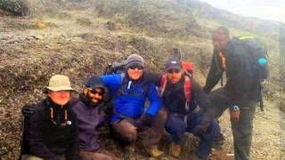 #Four #Men and a #mountain take on #Kilimanjaro with www.privateexpeditions.com/blog