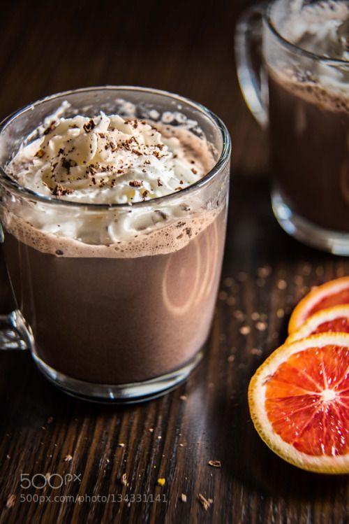 Blood Orange Hot Chocolate by jkbuckway  IFTTT 500px utah drink porn drinks food food photographer food porn hot chocolate jordan k buckway