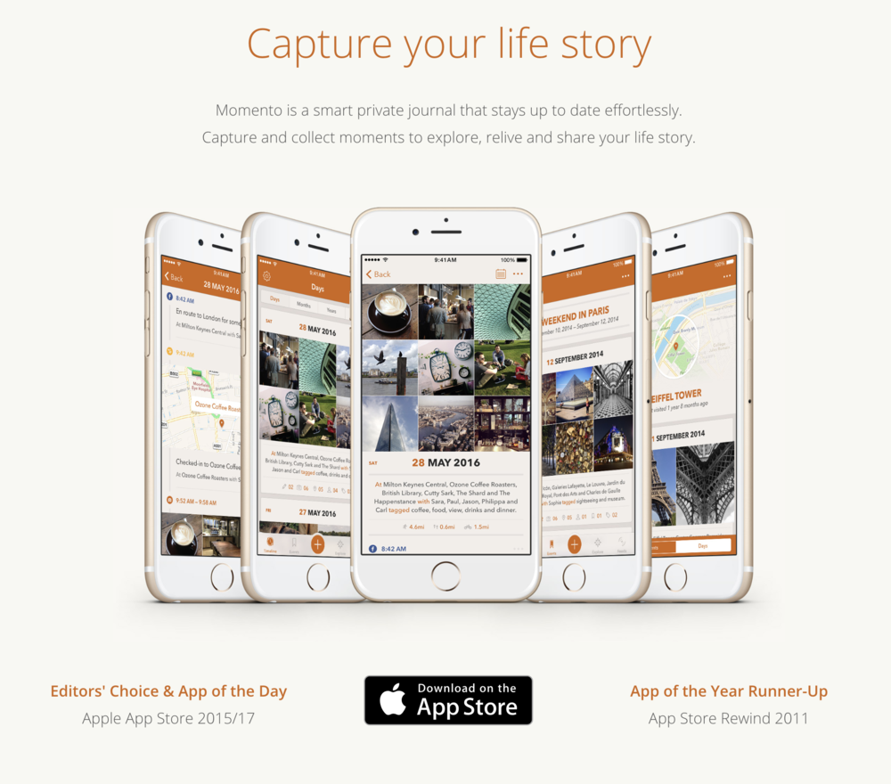 Momento App the easy way to automate a journal and
