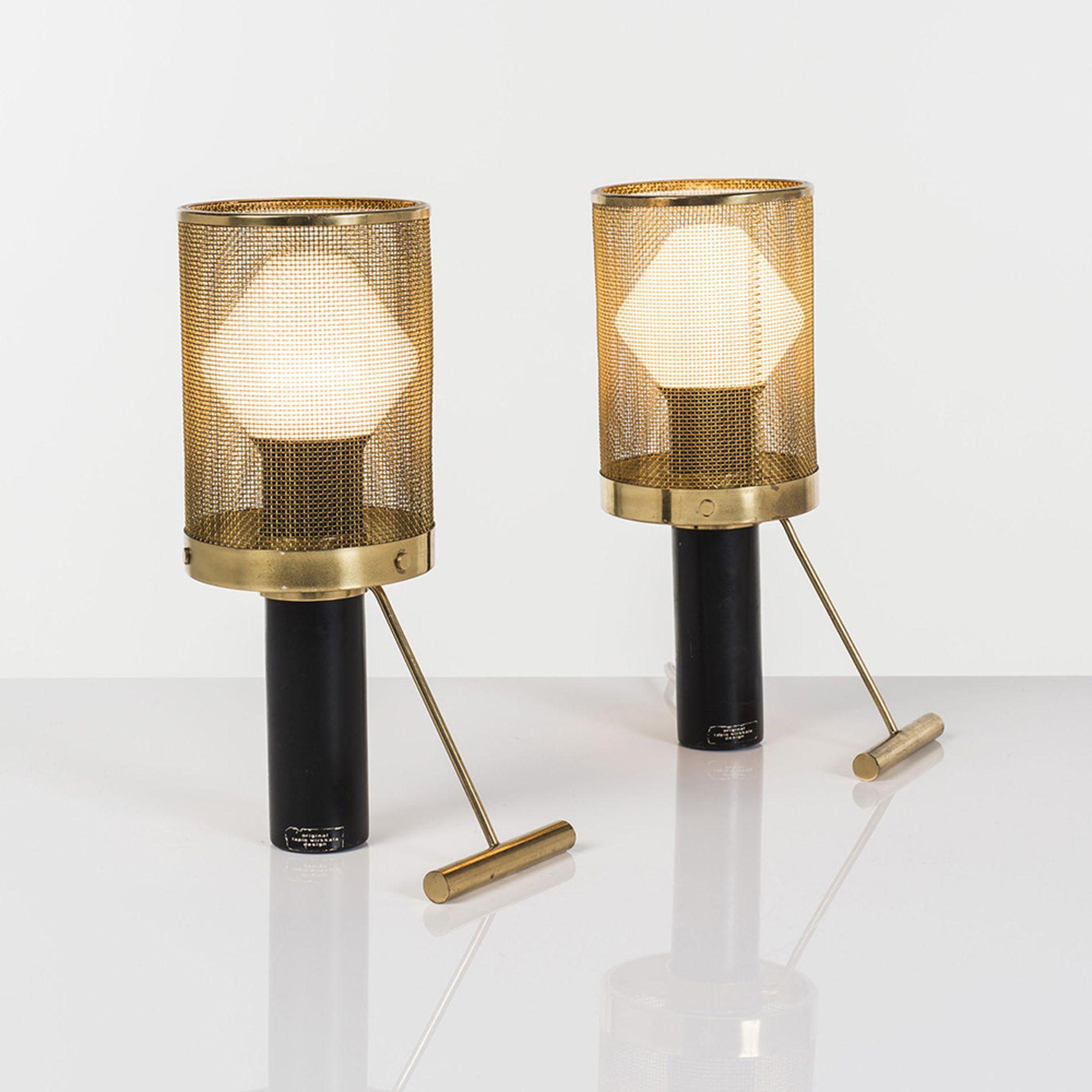 Tapio Wirkkala (1915 1985) Modèle K11 81 Paire de lampes à