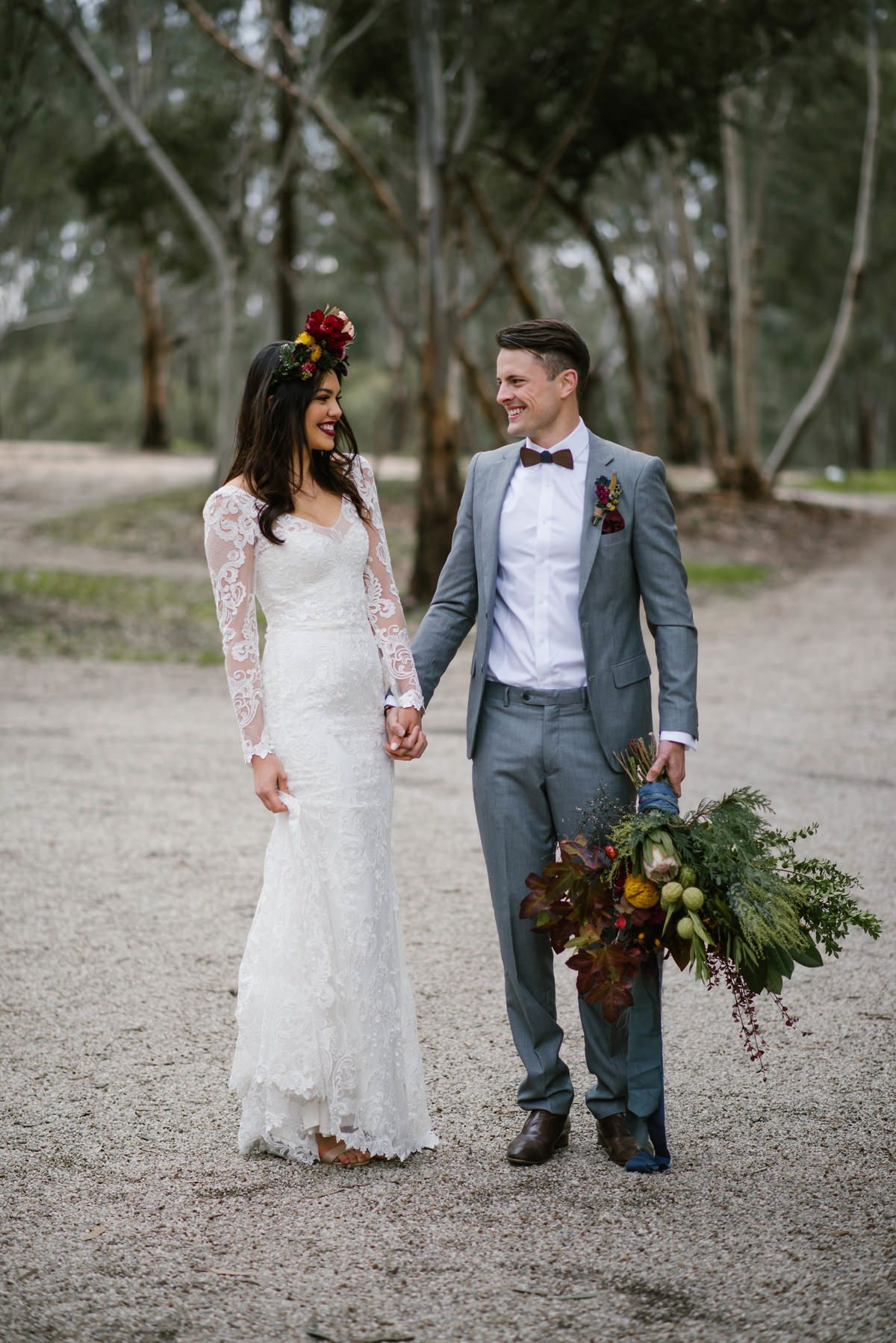 Australian Country Farm Wedding Ideas Anna Campbell Bridal India