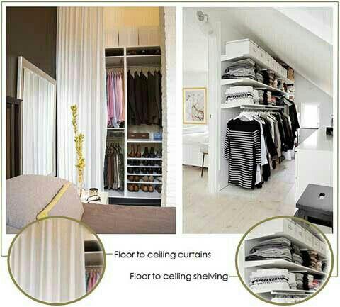 Model closet or chiferobe