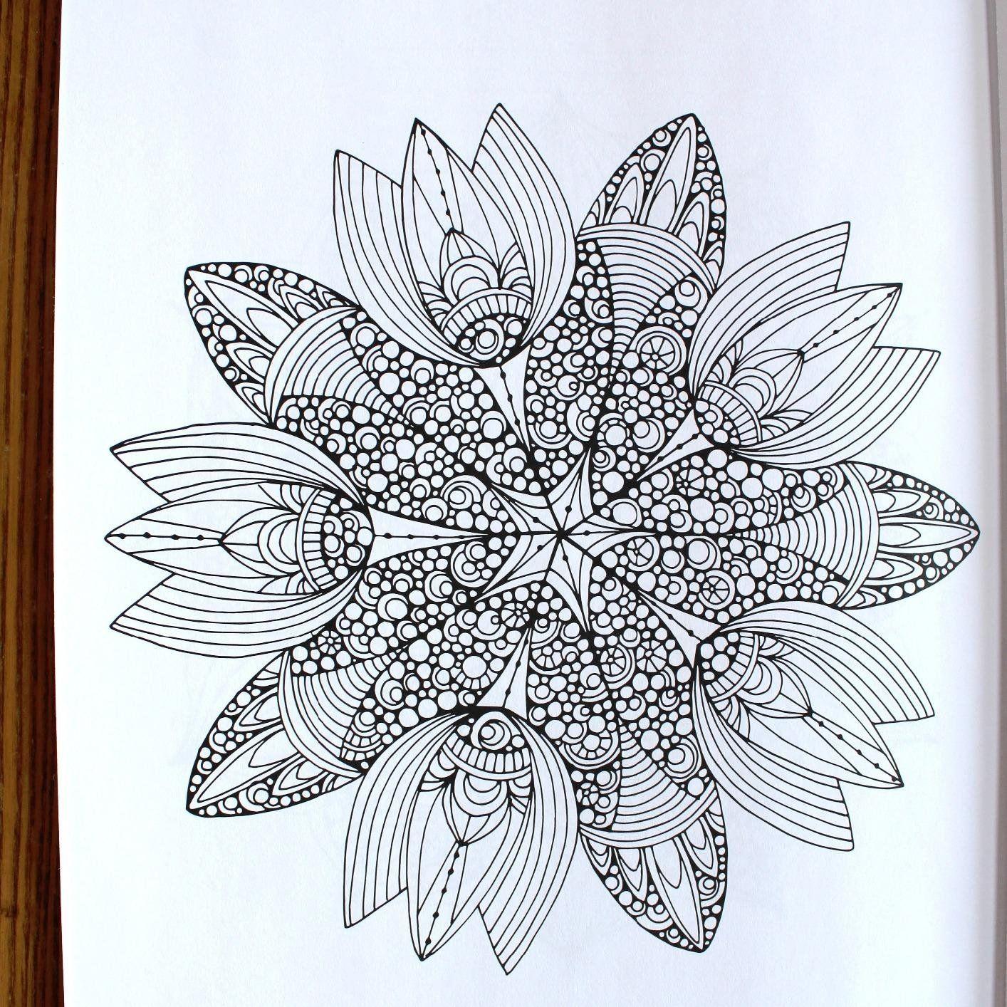 Amazon.com: Creative Coloring Mandalas: Art Activity Pages ...