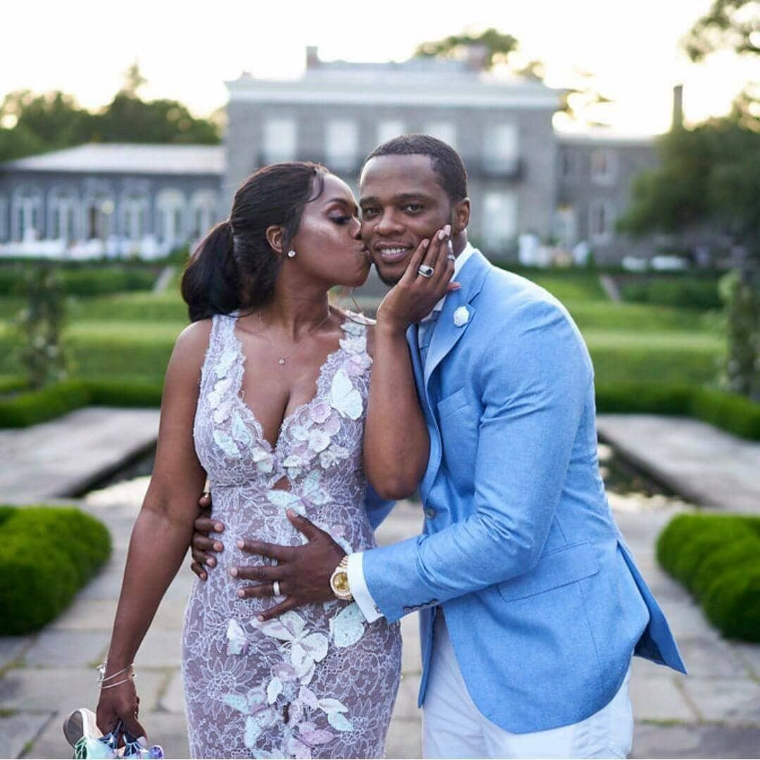 Rappers Remyma Papoose Just Celebrated 10 Years Of Marriage With A Beautiful Vow Renewal And Announced They Beautiful Vows Black Bridal Wedding Dresses