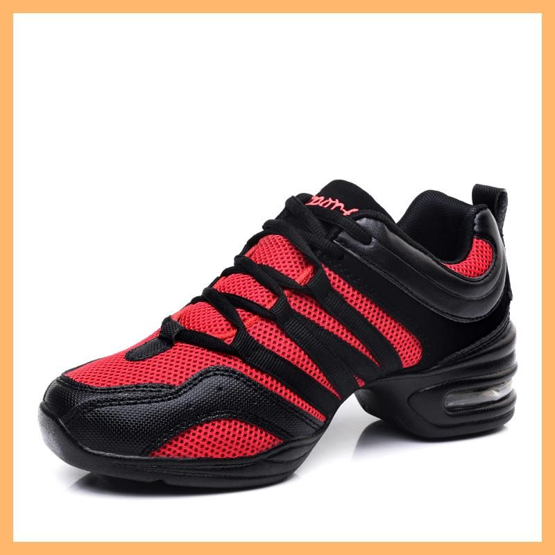 Women Athletic Sneakers Comfy Modern Jazz Hip Hop Dance Shoes Running Large Size