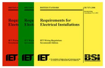 17th Edition Wiring Regulations and the IET Electrical ... on