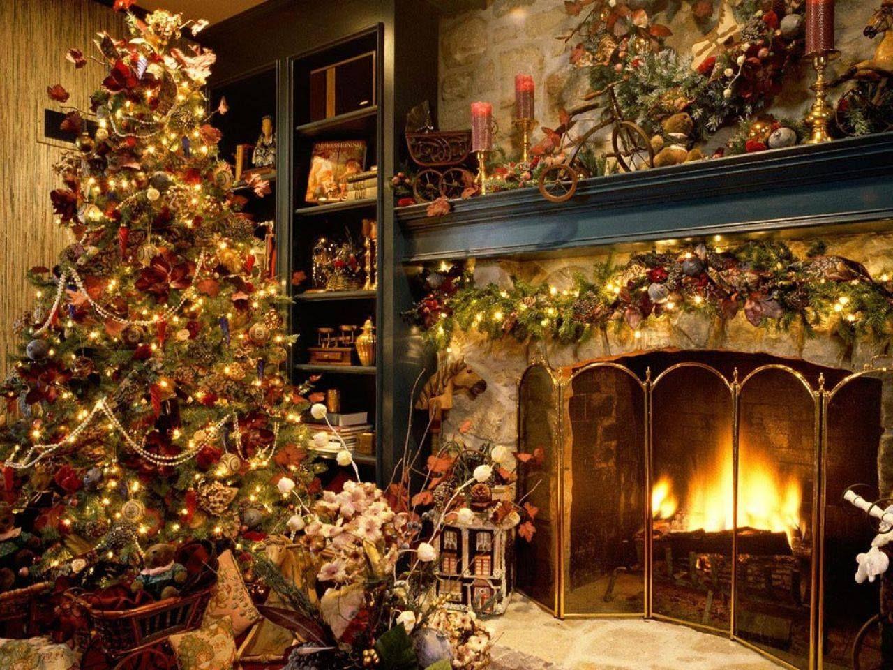 chimeneas navideñas - Buscar con Google