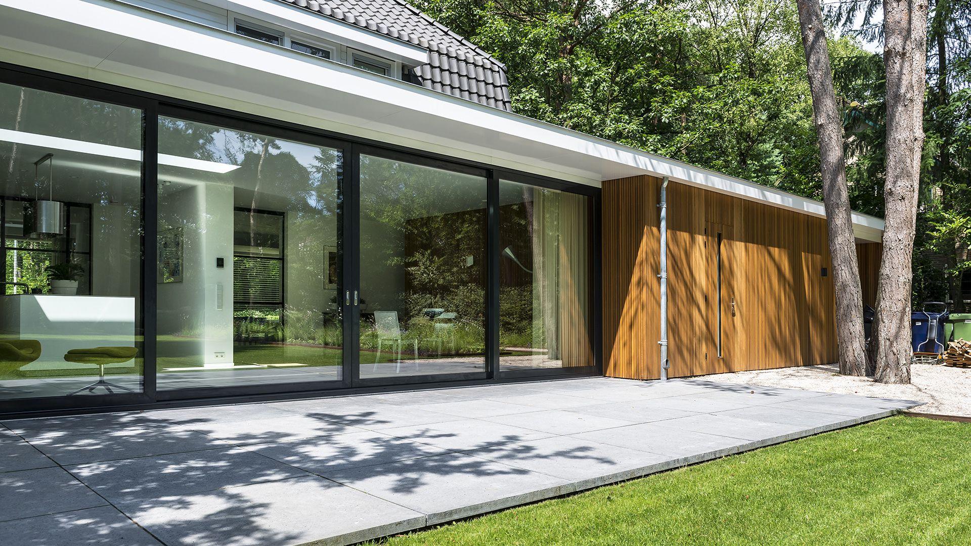 Awesome Verbouwing Bosch En Duin // Uitbouw Aanbouw Veranda Western Red Cedar  Latten Luifel Good Ideas