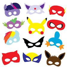 Billedresultat For Mascaras Super Herois Para Imprimir Billedkunst